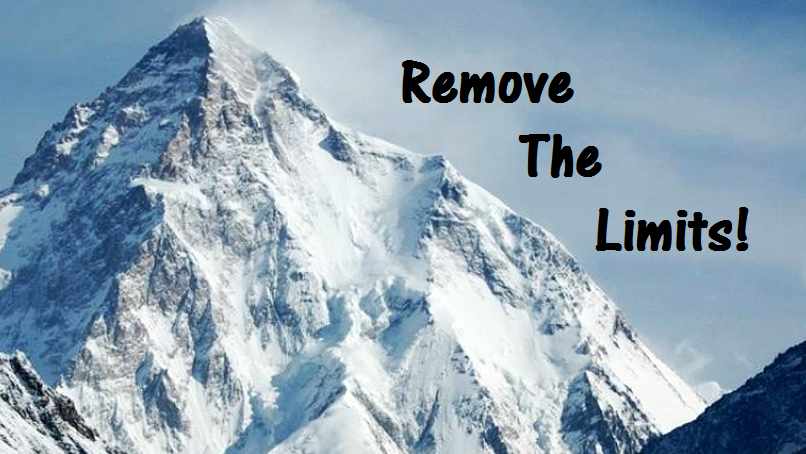 K2 remove the limits